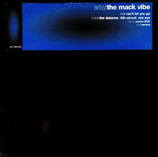 "Mack Vibe (The) ft Jacqueline ‎- I Can't Let You Go (12"") (Promo) (VG/G++)"